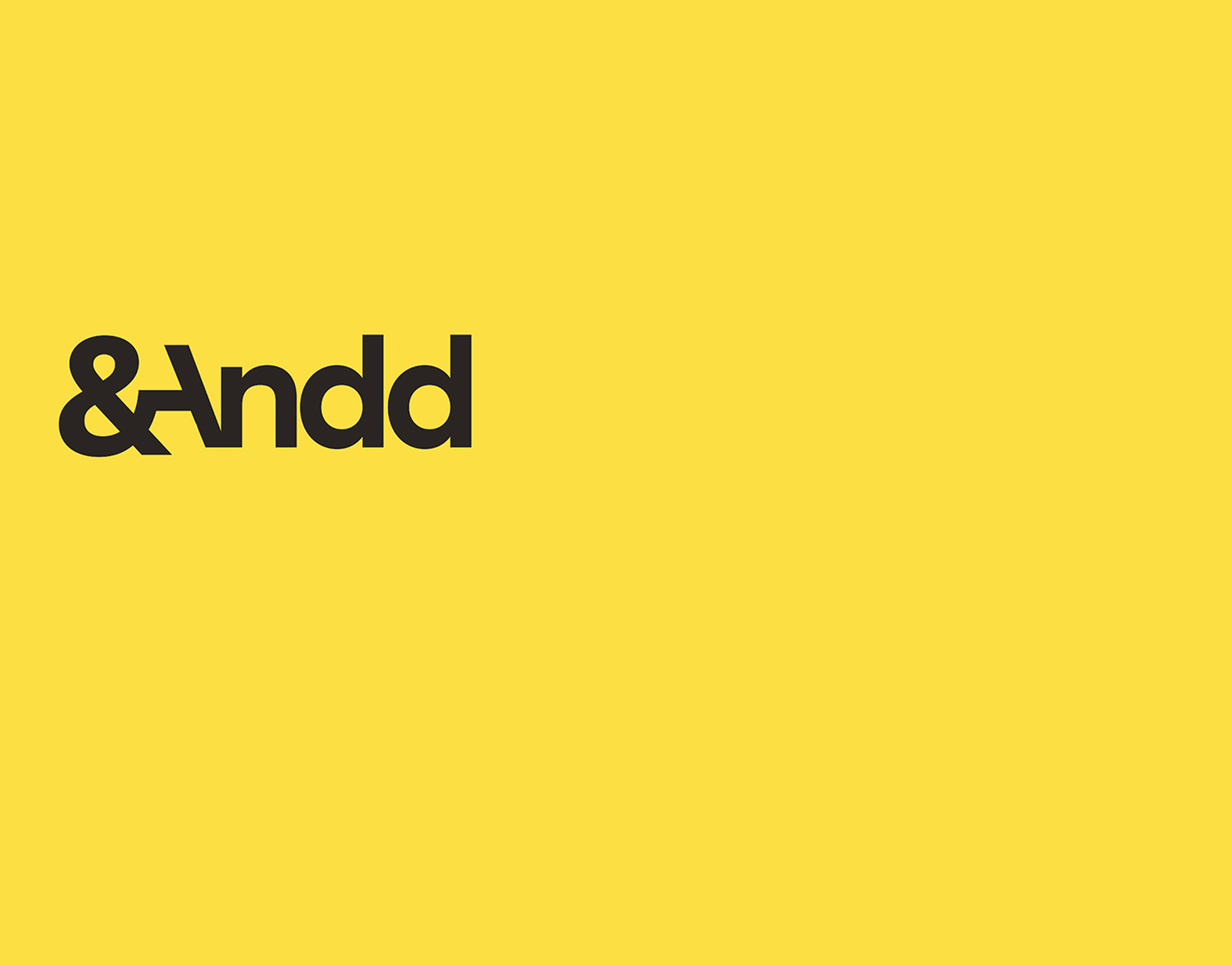 ANDD Agency: AudienceNet & Data Design Rebrand